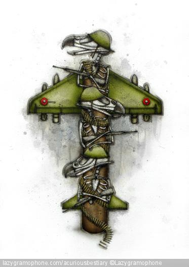 Bandoliers Totem