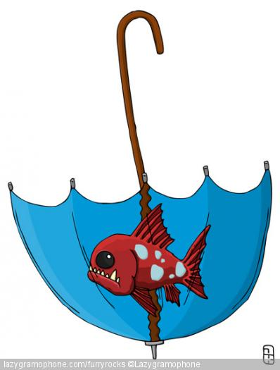 Fish-a-brella
