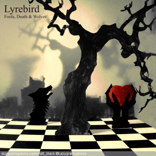 Lyrebird EP cover design